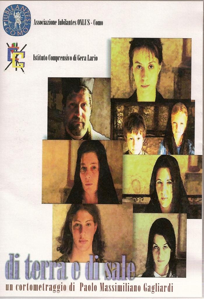 La copertina del video, a colori su fondo bianco, presenta i volti dei protagonisti, in primo piano: la protagonista Giulia, il futuro marito, il parroco di Vercana, la madre di Giulia, la sorella e i fratellini. In basso il titolo e il nome del regista, in alto la produzione.